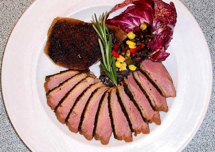 How to Make Homemade Duck Breasts with Concord Sauce