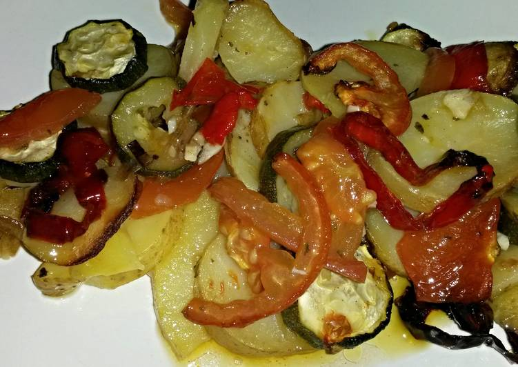 Sig's Potato and Vegetable Casserole
