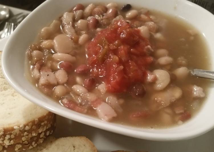BACON n BEANS Soup (crockpot), Choosing Wholesome Fast Food