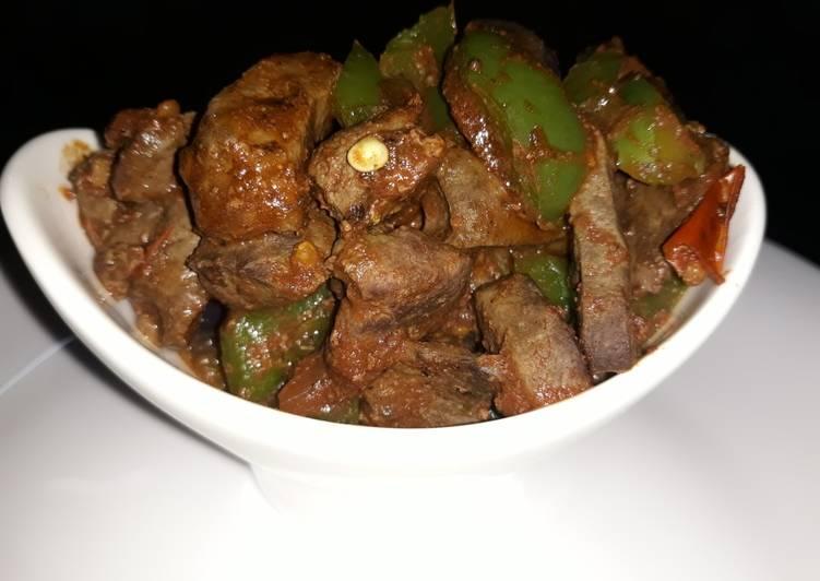 Recipe: Perfect Fried liver
