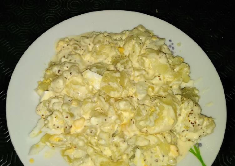 Ensaladilla de patata al limón y mostaza dijon