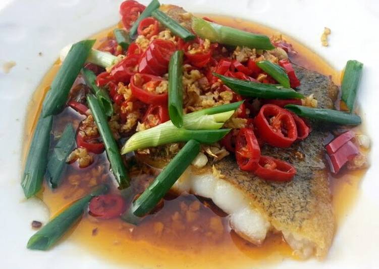 Fish In Red Chili Pepper