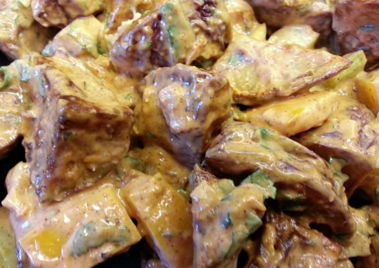 Smokey Ancho Chile Potato Salad