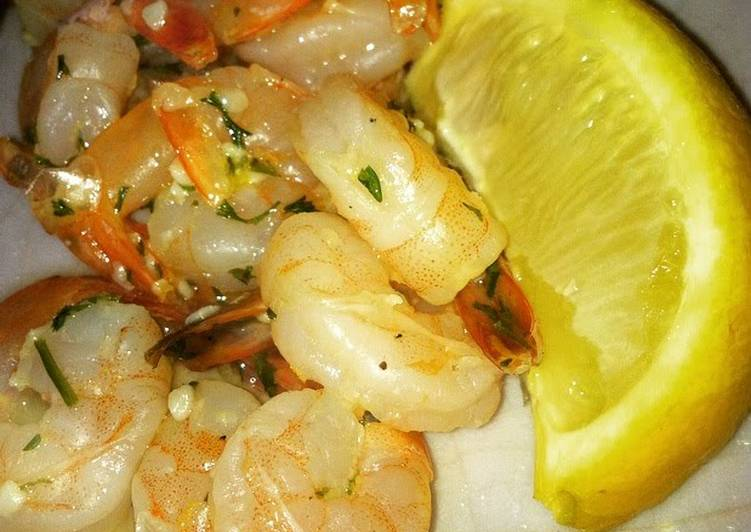 Easiest Way to Cook Perfect Irvixen's Shrimp Scampi