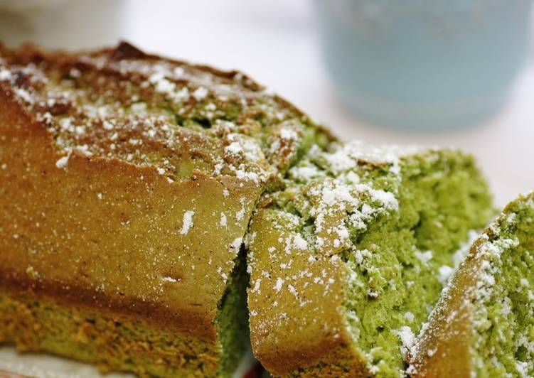 10 Minute Recipe of Ultimate Only Mix and Bake!! Matcha Cake with White Chocolate