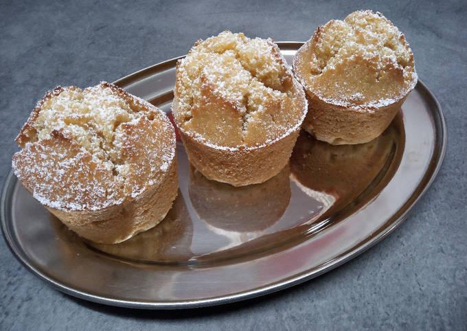 Bolos de arroz (muffins portugais)