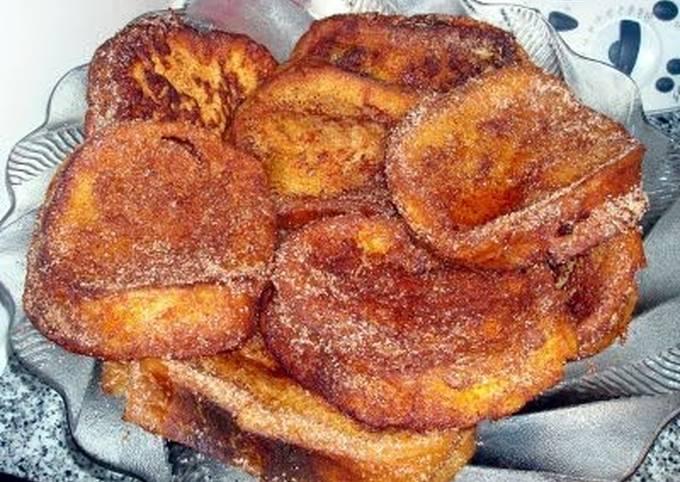 french toast (portuguese rabanadas)