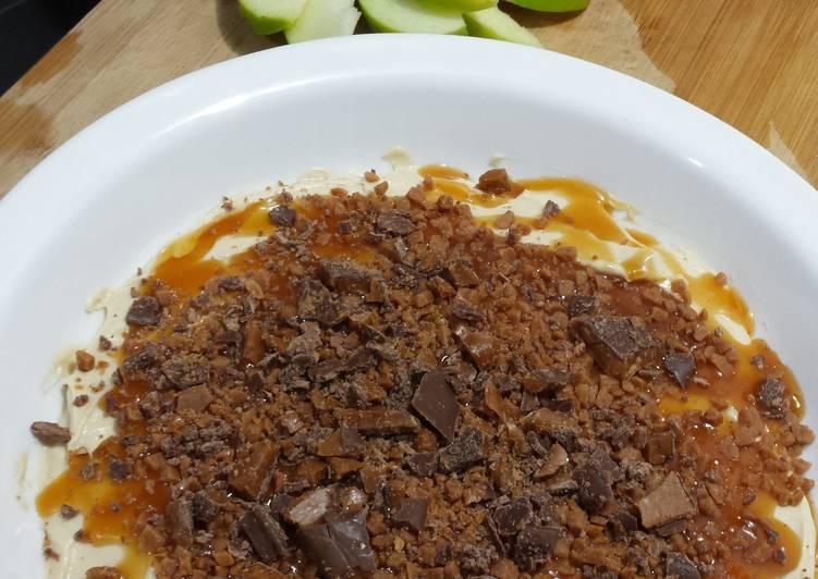The Best Way to Cook Perfect Caramel Cheesecake Apple Dip
