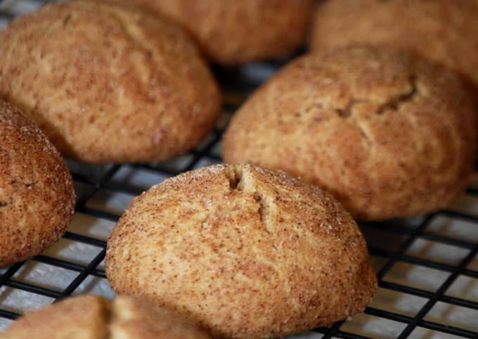 Cinnamint Tea Cookies