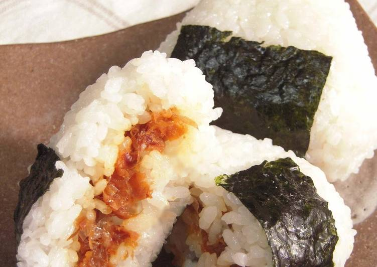 Your Overall Health Can Be Effected By The Foods You Choose To Eat Rice Balls with Umeboshi and Bonito Flakes