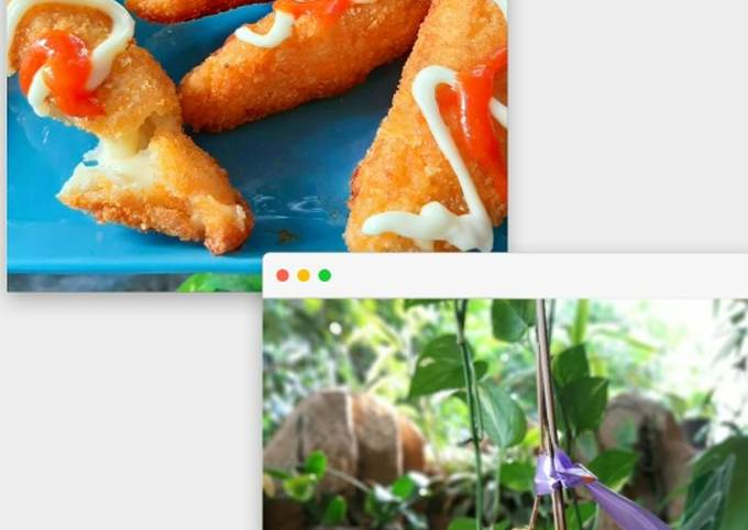 Langkah Mudah Menyiapkan CornDog Sosis Moza (lembut bersarang) ,…