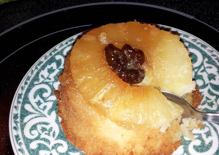 Pineapple upsidedown muffincakes