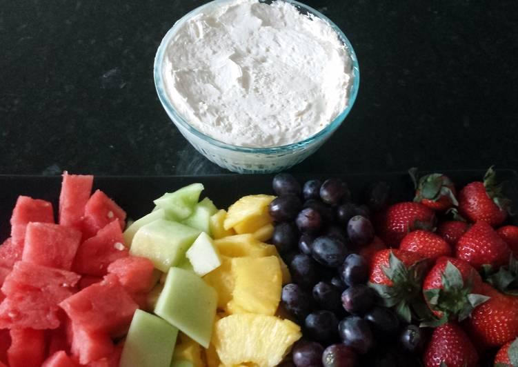 Recipe of Award-winning Fruit dip