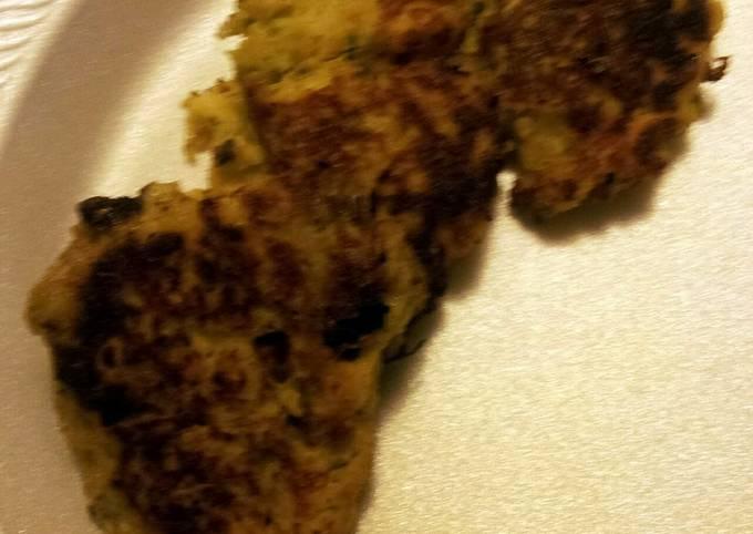 Broccoli and Potato Fritters
