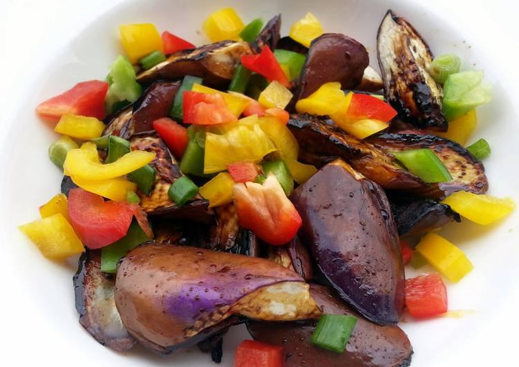 Recipe: Appetizing LG PAN GRILL TERIYAKI EGGPLANT