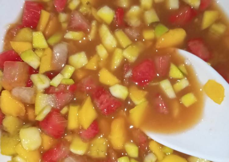 Recipe of Super Quick Homemade Fruit salad