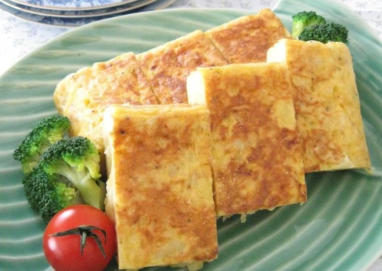 [Spanish Cuisine] Potato Omelette