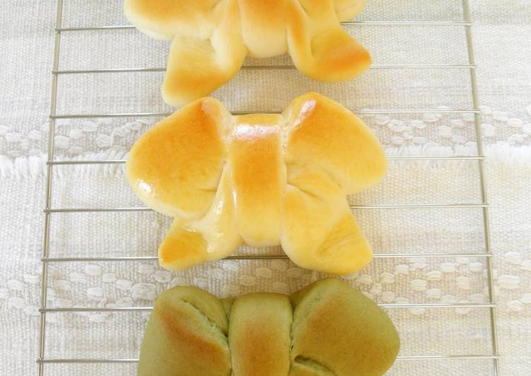 Cute Shape Bow Bread