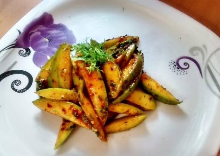 Recipe of Most Popular Sour&spicy mango chutney