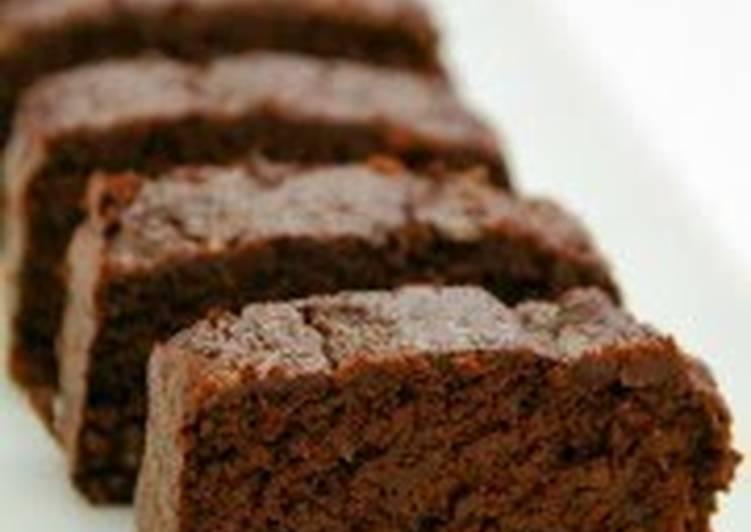 Step-by-Step Guide to Prepare Favorite Oil-Free Okara Chocolate Cake