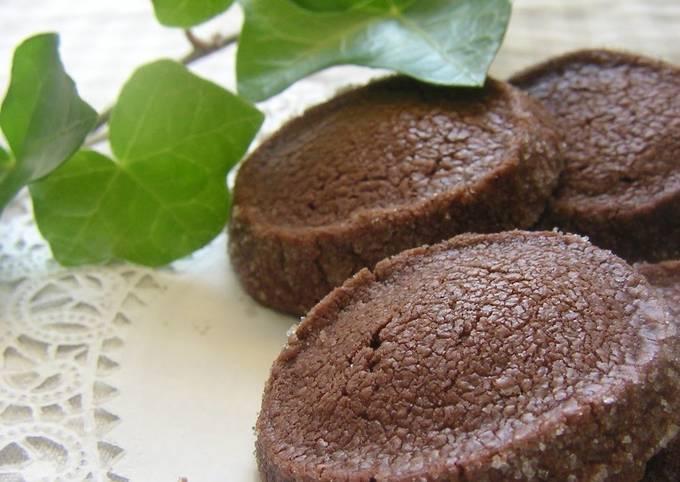 Crispy & Crunchy Chocolate Shortbread