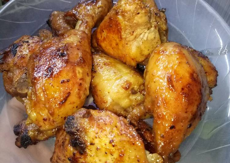 Ayam goreng bacem presto khas Jogja... Cm 5 mnt...😋😋😋