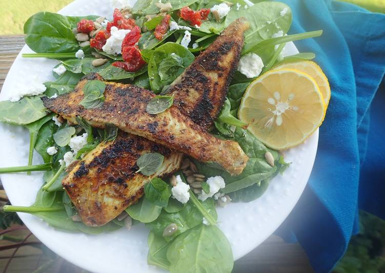 15 Minute Recipe of Vegan Blackened Cajun Flounder