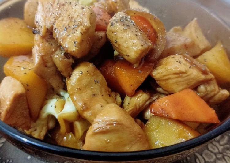 Ayam Black Pepper 🍗 #Ayam #MunahMasak - velavinkabakery.com