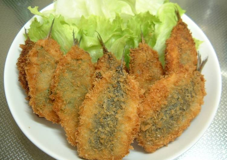 Step-by-Step Guide to Make Quick Breaded and Deep Fried Sardines