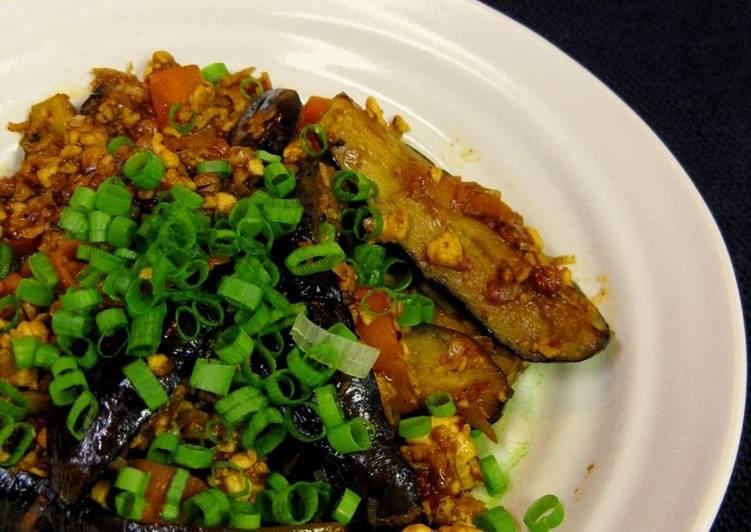 Healthy Mapo Eggplant with Tofu