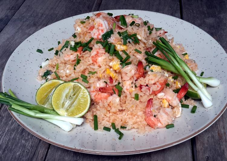 Kanya's Shrimps Fried rice