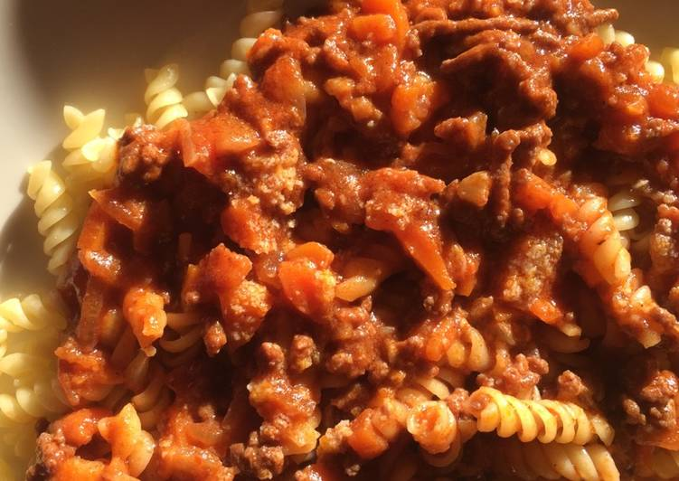 Recette: Sauce Bolognaise