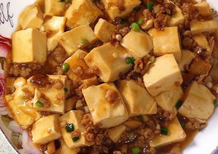 Cách Làm Món Đậu phụ sốt thịt băm + nấm hương của Hồng Loan - Cookpad