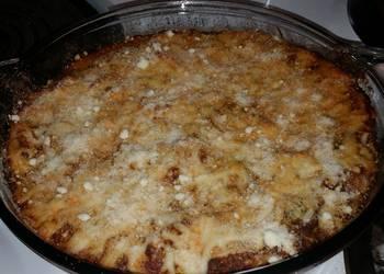 How to Recipe Tasty Venison baked spaghetti