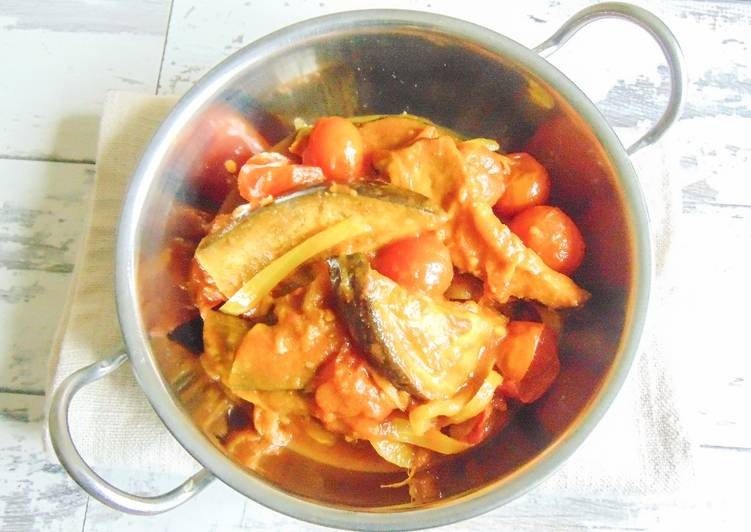 Recipe of Homemade Aubergine & Cherry Tomato Curry