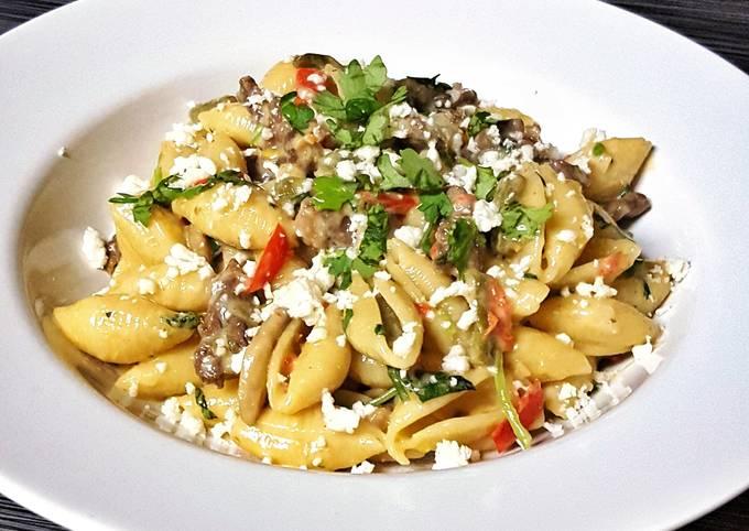 Recipe of Heston Blumenthal Steak and Cactus Pasta