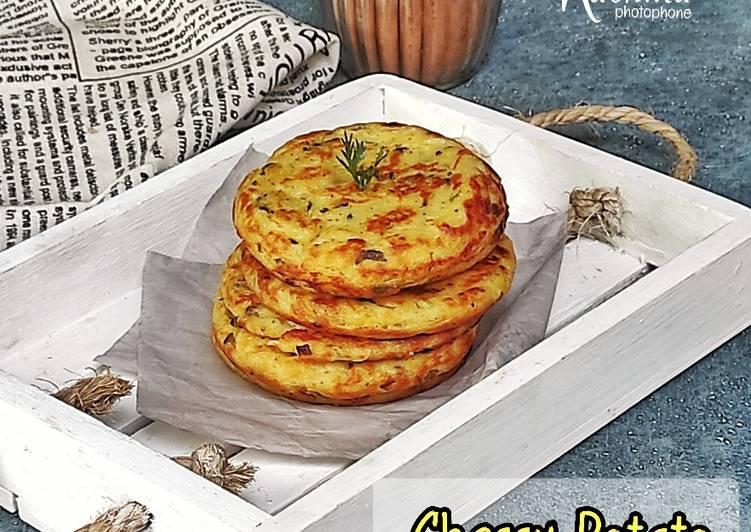 Chessy Potato Pancake