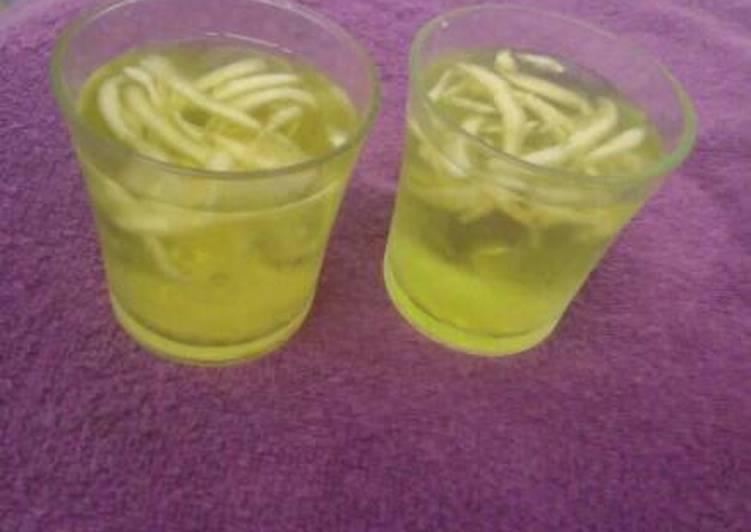 Resep Es Serbat Melon Oleh Dwi W Cookpad