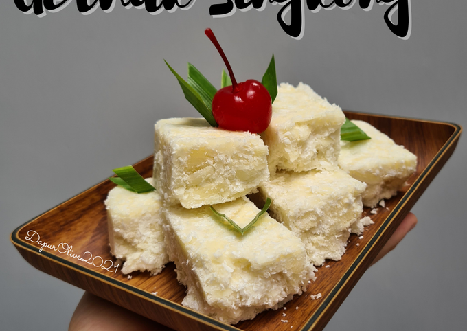 Resep Getuk Singkong khas Salatiga, Lezat