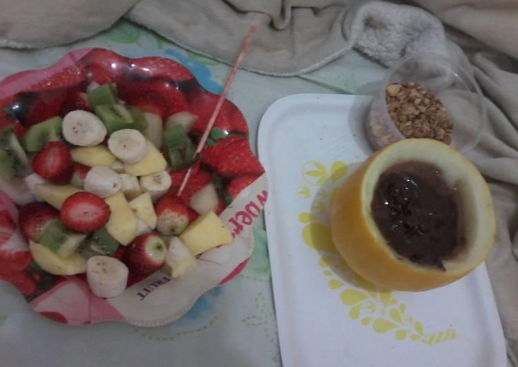 Healthy fondue.