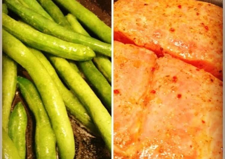 Delicious Salmon Steak