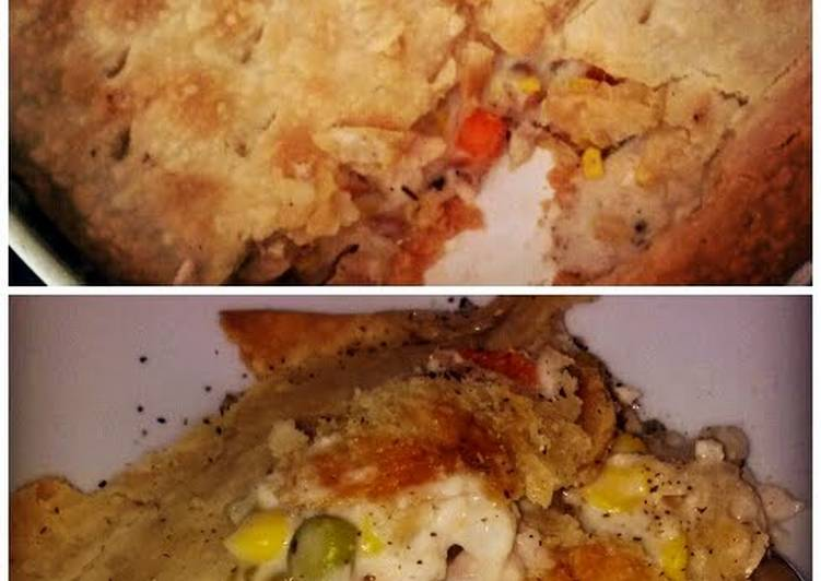 Recipe: Appetizing Homemade Chicken Pot Pie Healthy That You Will Love