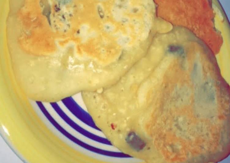 Flour Oatmeal Pancakes with Sultanas