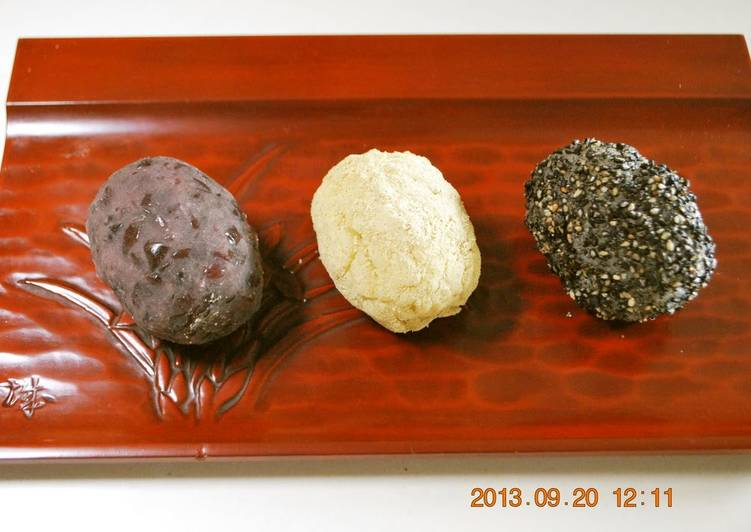 Easy Ohagi (Rice and Sweet Bean Cakes) Made in Just 10 Minutes With a Microwave