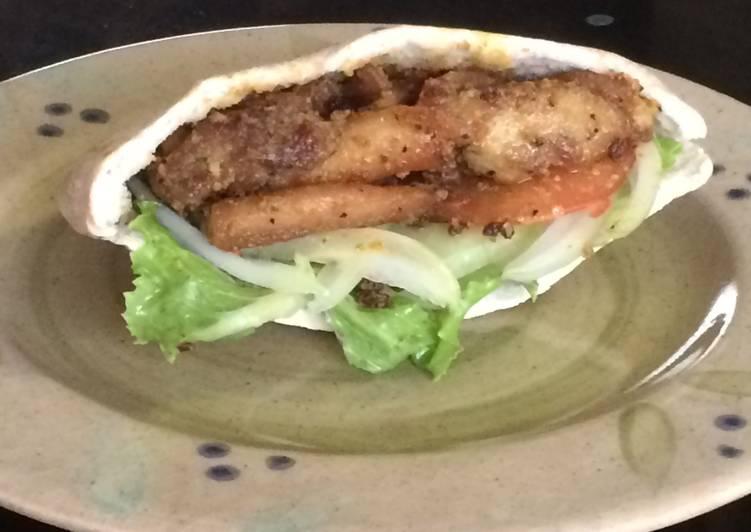 Indian Delight Pita Bread Choosing Healthy Fast Food