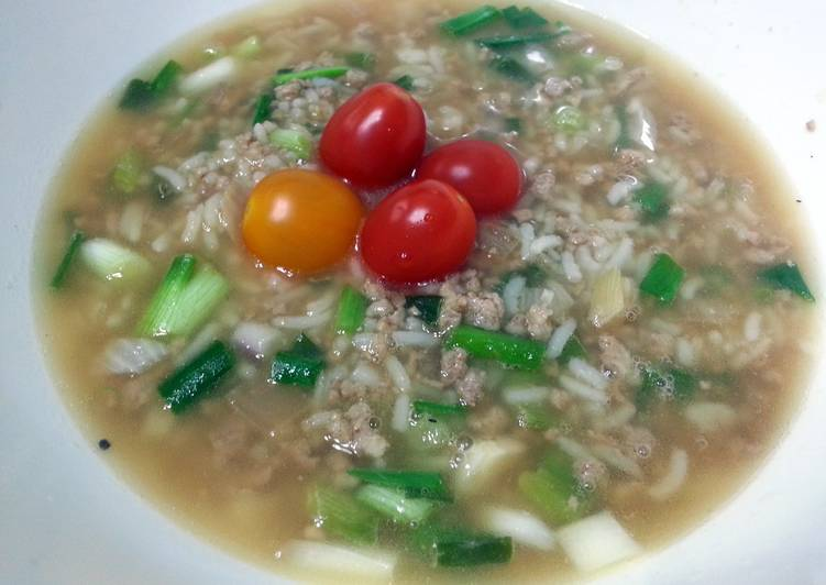 Fried Rice In Soup