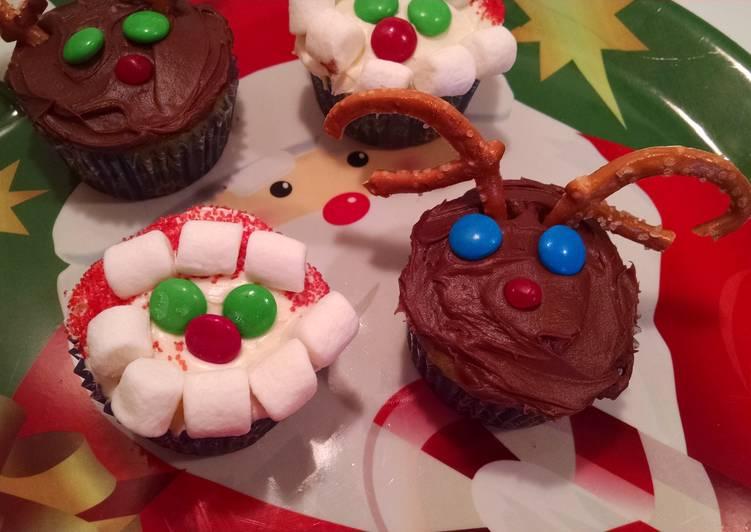 Steps to Make Award-winning Christmas cupcakes