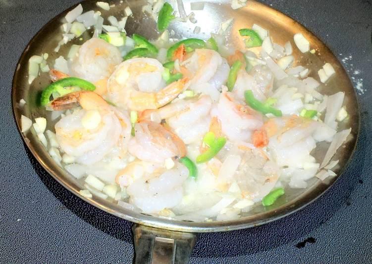 jalapeno garlic lime shrimp
