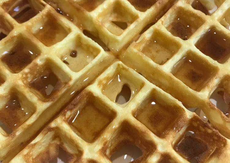 Easiest Way to Cook Tasty Keto waffles