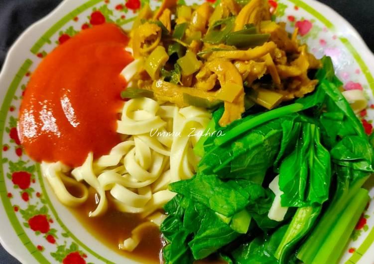 Cara Memasak Mie Ayam Homemade irit untuk jualan